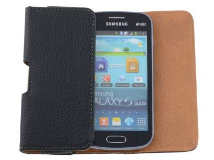 Textured Synthetic Leather Belt Pouch for Samsung Galaxy Trend Plus S7583T / S Duos S7562