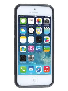 Apple iPhone 5c Wave Case - Frosted Black/Black