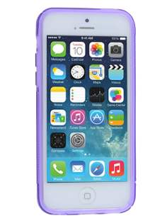 Wave Case for iPhone 5c - Frosted Purple/Purple