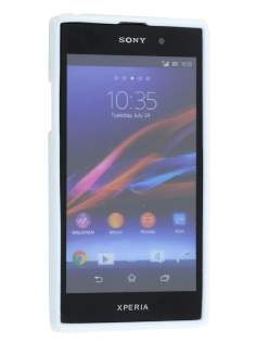 Sony Xperia Z1 Wave Case - Pearl White