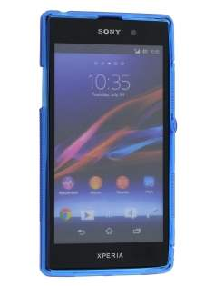 Sony Xperia Z1 Wave Case - Frosted Blue/Blue