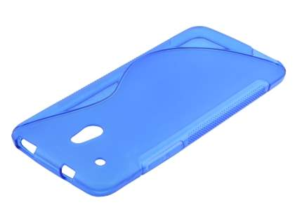 HTC One Mini Wave Case - Frosted Blue/Blue