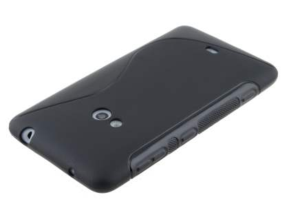 Nokia Lumia 625 Wave Case - Frosted Black/Black