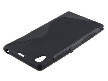 Sony Xperia Z1 Wave Case - Frosted Black/Black