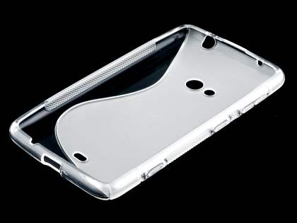Wave Case for Nokia Lumia 625 - Frosted Clear/Clear
