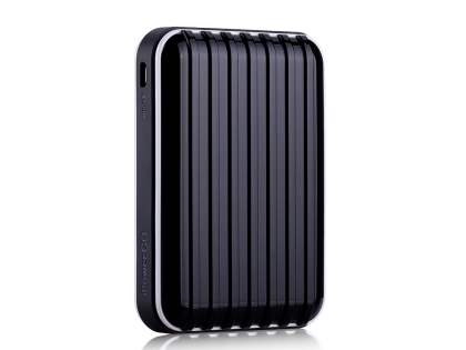 Momax iPower Go External Battery 8800mAh with Dual USB Sockets and LED Light - Classic Black