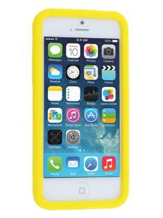Silicone Rubber Case for the iPhone 5c - Canary Yellow