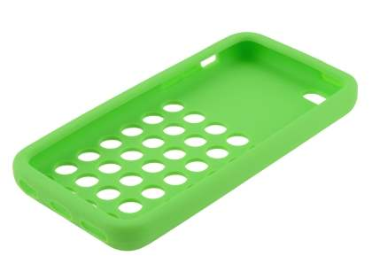 Silicone Rubber Case for the iPhone 5c - Green