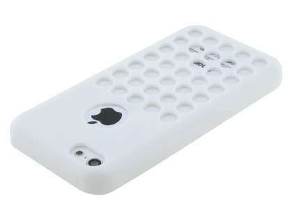 TPU Case for iPhone 5c - Pearl White