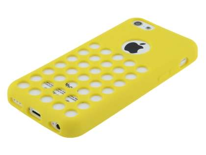 TPU Case for iPhone 5c - Canary Yellow