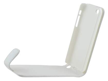 Apple iPhone 5c Synthetic Leather Flip Case - Pearl White