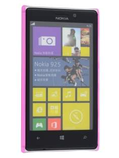 Nokia Lumia 925 Ultra Slim Frosted Case plus Screen Protector - Frosted Pink