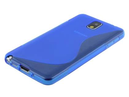 Wave Case for Samsung Galaxy Note 3 - Frosted Blue/Blue