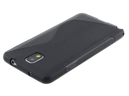 Wave Case for Samsung Galaxy Note 3 - Frosted Black/Black