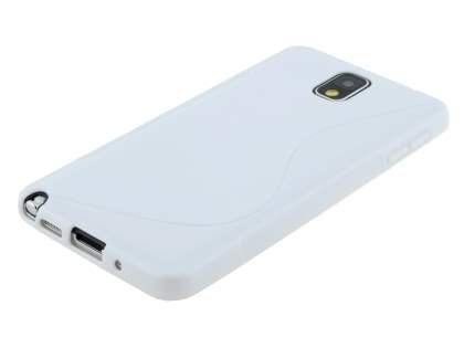 Samsung Galaxy Note 3 Wave Case - Pearl White