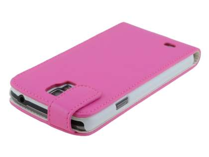 Samsung Galaxy S4 Active I9295 Synthetic Leather Flip Case - Pink