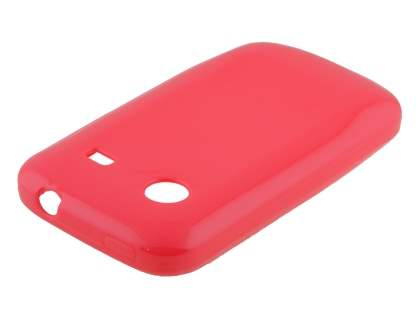 Frosted Colour TPU Gel Case for ZTE T790 Telstra Pulse - Pink Soft Cover