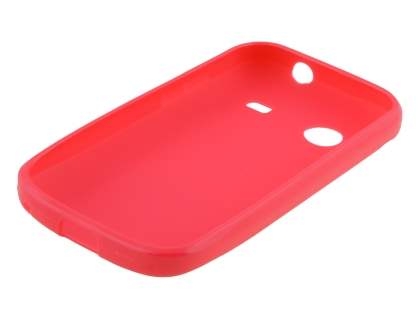 Frosted Colour TPU Gel Case for ZTE T790 Telstra Pulse - Pink