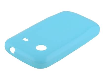 Frosted Colour TPU Gel Case for ZTE T790 Telstra Pulse - Sky Blue