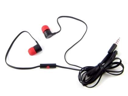 HTC 39H00014-00M Original Stereo Headset - Classic Black Headphone