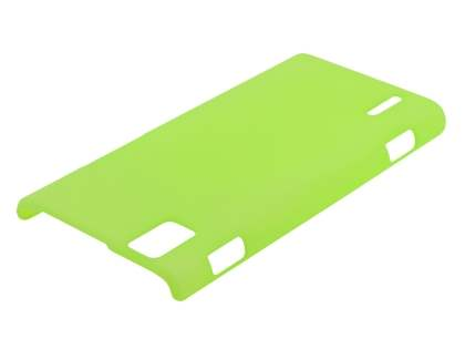 Ultra Slim Frosted Case for Huawei Ascend P2 - Green Hard Case