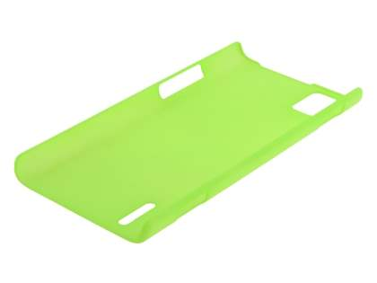 Huawei Ascend P2 Ultra Slim Frosted Case plus Screen Protector - Green