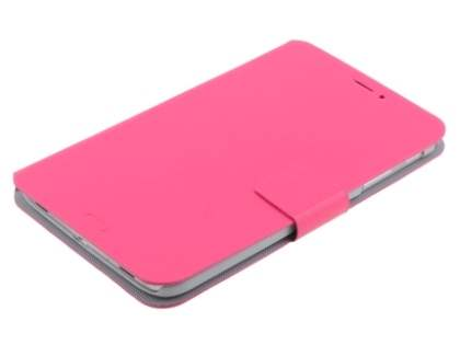 Book-Style Case with Tilt Stand for Samsung Galaxy Tab 3 8.0 - Pink