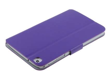 Samsung Galaxy Tab 3 8.0 Book-Style Case with Tilt Stand - Purple