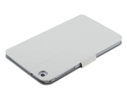 Samsung Galaxy Tab 3 8.0 Book-Style Case with Tilt Stand - Pearl White