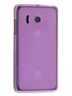 Frosted TPU Case for Huawei Ascend Y300 - Frosted Pink Soft Cover