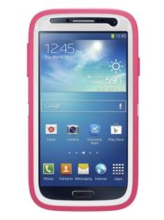 Impact Case for Samsung Galaxy S4 I9500 - Pink/Light Grey