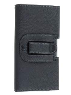 Textured Synthetic Leather Belt Pouch for Samsung Galaxy Mega 6.3 I9200