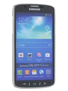 Samsung Galaxy S4 Active I9295 Ultra Slim Frosted Case plus Screen Protector - Frosted Clear