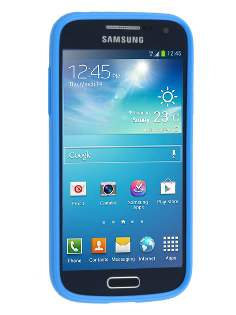 Samsung I9195 Galaxy S4 mini Colour TPU Gel Case - Blue