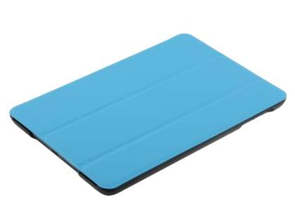 Premium Slim Synthetic Leather Flip Case with Stand for iPad mini - Blue