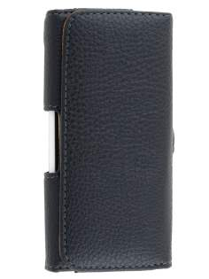 HTC One S Synthetic Leather Belt Pouch - Classic Black