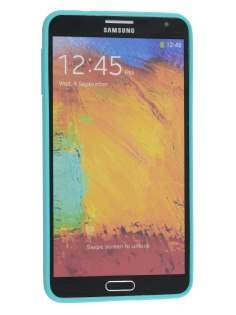Samsung Galaxy Note 3 Colour TPU Gel Case - Aqua