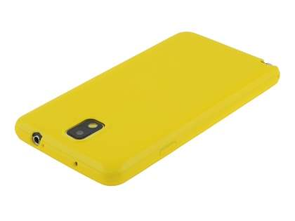Samsung Galaxy Note 3 Colour TPU Gel Case - Canary Yellow