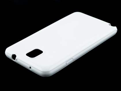 Colour TPU Gel Case for Samsung Galaxy Note 3 - Pearl White