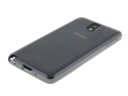 Transparent TPU Case for Samsung Galaxy Note 3 - Grey