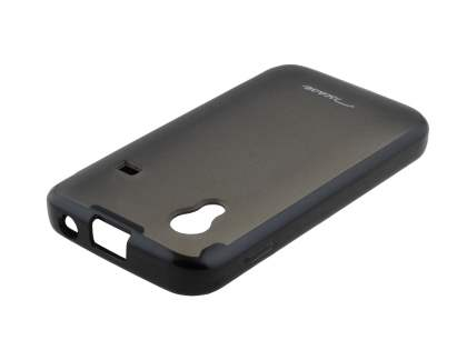 TS-CASE Dual-Design Case for Samsung Galaxy Ace S5830 - Black/Grey