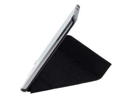 Premium Slim Synthetic Leather Flip Case with Stand for Samsung Galaxy Tab 3 10.1 - Classic Black