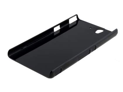 Brushed Aluminium Case for Sony Xperia Z - Green/Black