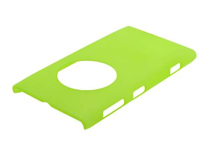 Nokia Lumia 1020 Ultra Slim Frosted Case plus Screen Protector - Frosted Green