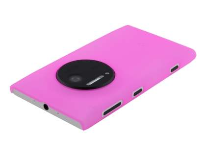 Nokia Lumia 1020 Ultra Slim Frosted Case plus Screen Protector - Frosted Pink