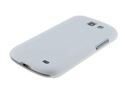 Samsung Galaxy Express i8730 Ultra Slim Frosted Case plus Screen Protector - Frosted Clear