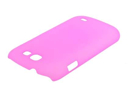 Samsung Galaxy Express i8730 Ultra Slim Frosted Case plus Screen Protector - Frosted Pink
