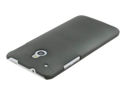 HTC One Mini Ultra Slim Frosted Case plus Screen Protector - Frosted Grey