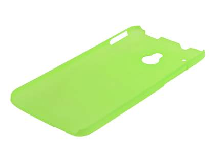 HTC One Mini Ultra Slim Frosted Case plus Screen Protector - Frosted Green