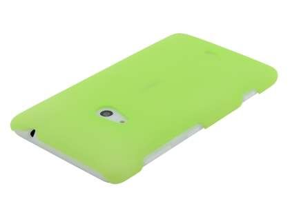 Nokia Lumia 625 Ultra Slim Frosted Case plus Screen Protector - Frosted Green